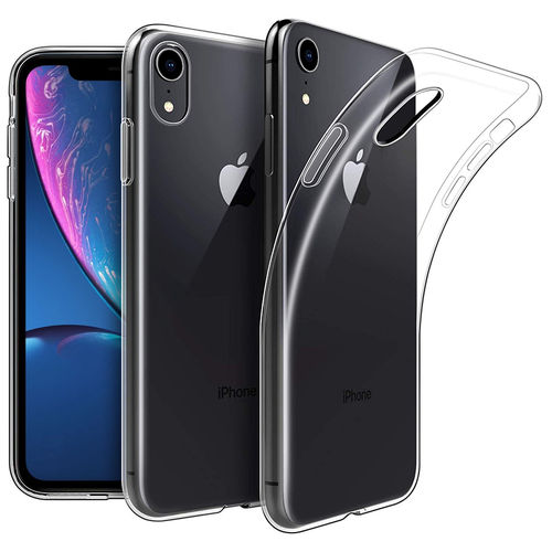 Flexi Thin Crystal Gel Case for Apple iPhone Xr - Clear / Gloss